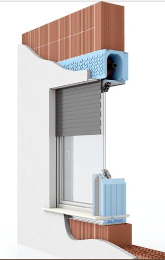 Janelas de aluminio face da parede interior p gina - Sistemas de estores ...