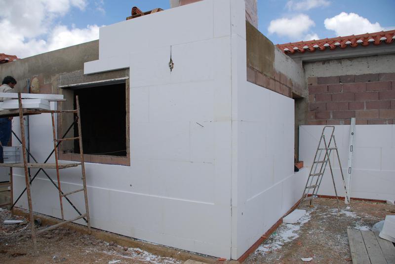 Blocos t rmicos f rum da casa - Proteger paredes de rozaduras ...