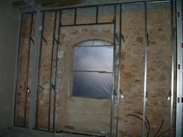 Forrar paredes com pladur p gina 5 f rum da casa for Montar pared de pladur