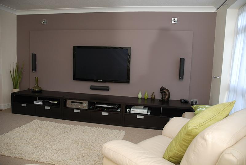 Parede falsa para tv f rum da casa - Instalacion de pladur en paredes ...