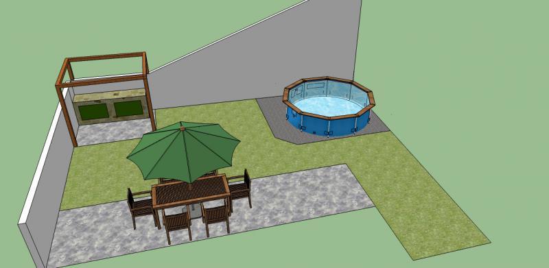 Coloca o de piscina tubular no jardim f rum da casa for Piscina tubular pequena