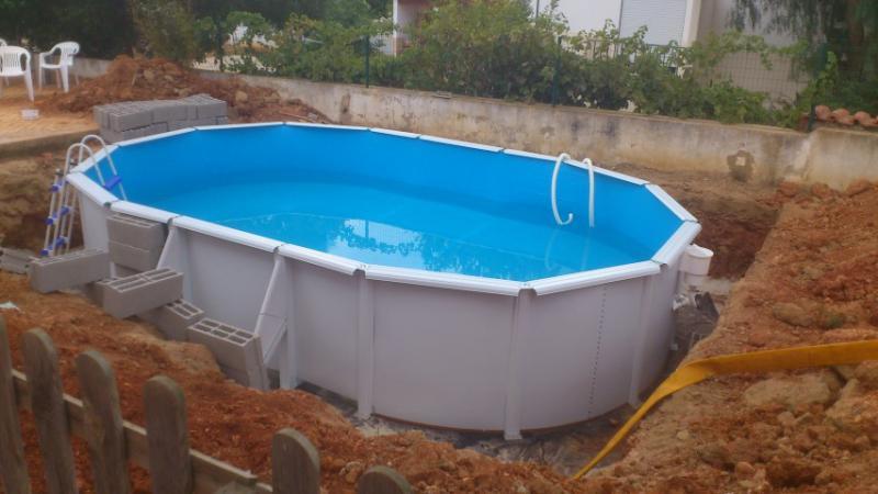 Enterrar piscina gre f rum da casa - Piscinas desmontables enterradas ...