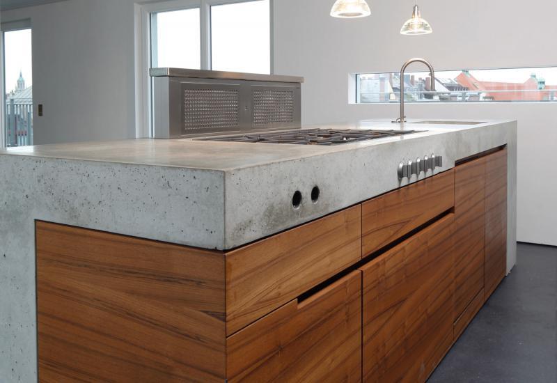 bancada de cozinha em cimento afagado cor p gina 3. Black Bedroom Furniture Sets. Home Design Ideas