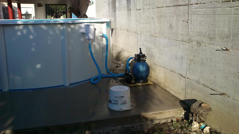 Ideia para colocar motor e filtro de uma piscina for Motor piscina