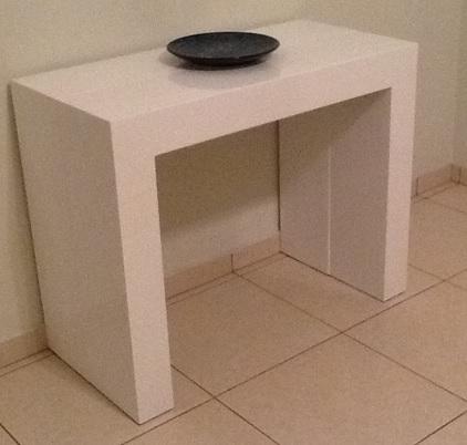 Mobilar apartamento pequeno 55m2 f rum da casa - Mesa consola extensible conforama ...